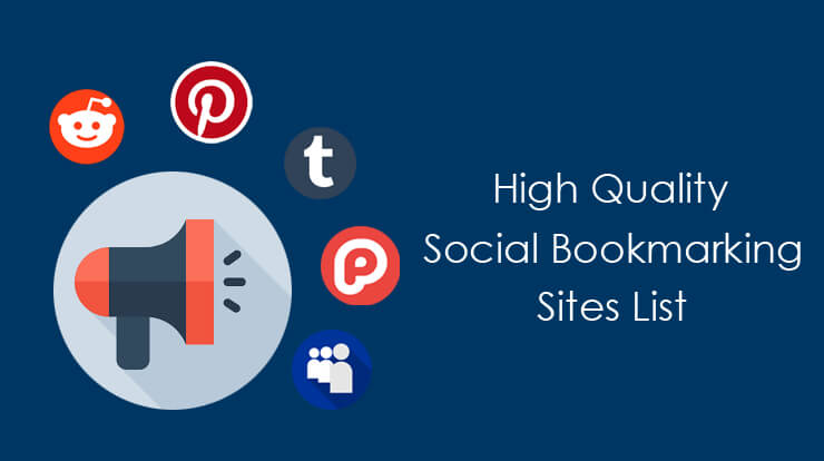 high quality social bookmarking sites list